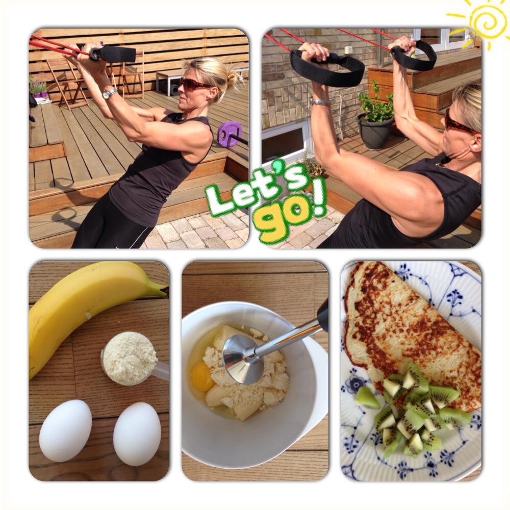 banan proteinpulver